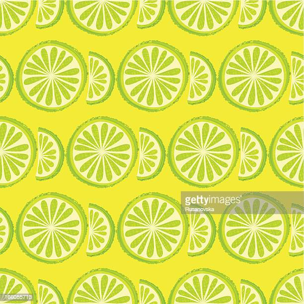 Lime Seamless Pattern