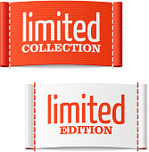 Limited collection and edition clothing labels