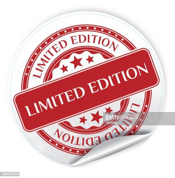 限定版ステッカー - 限定版点のイラスト素材/クリップアート素材/マンガ素材/アイコン素材