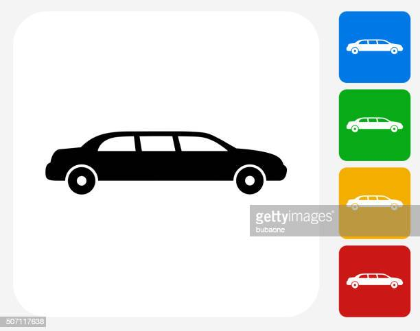 Limo Icon Flat Graphic Design