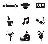 Limousine Icons