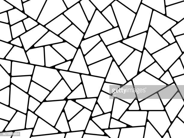 line abstract shapes background - triangle shape stock illustrations
