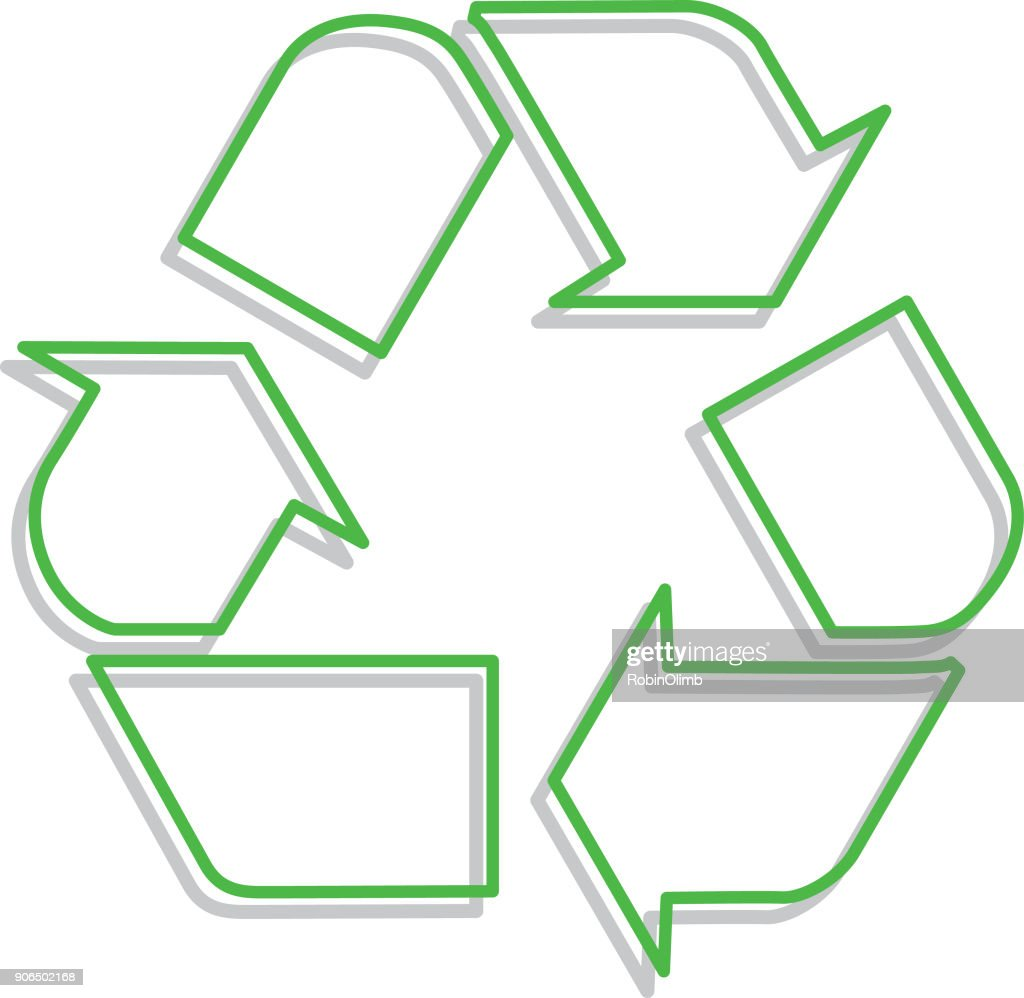 Recycle Symbol Vector Art Awesome Graphic Library