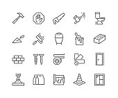 Line Construction Icons