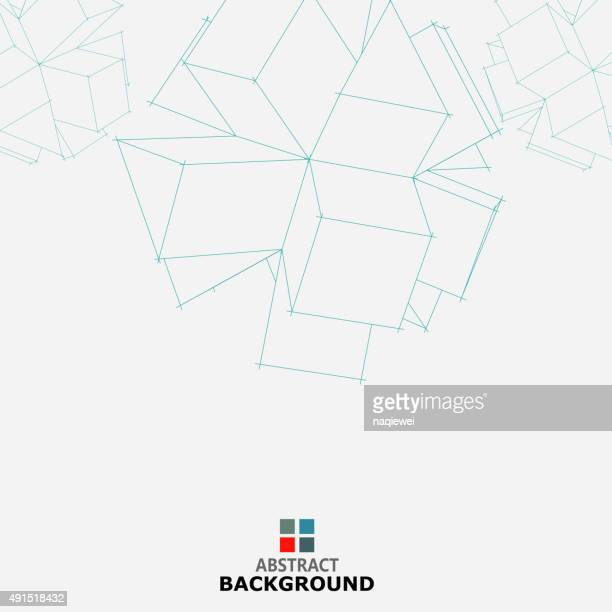 cube Muster Hintergrund Kollektion