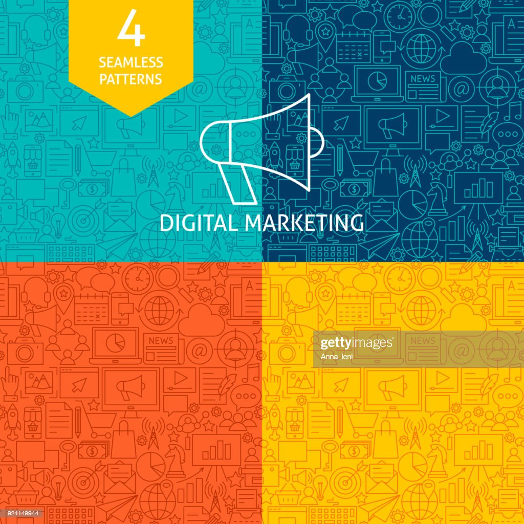 Line Digital Marketing Patterns
