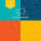 Line Digital Marketing Patterns