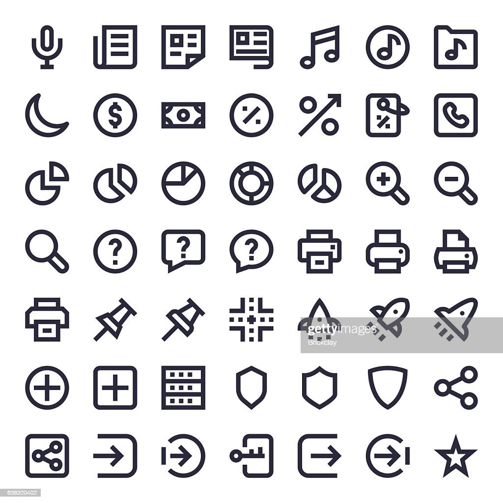 Line Essential Icons 12