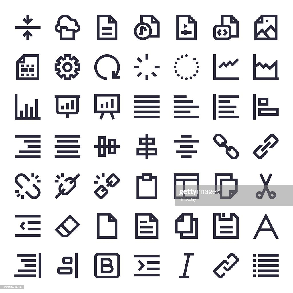 Line Essential Icons 63