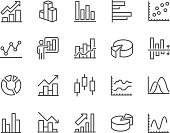 Line Graph Icons