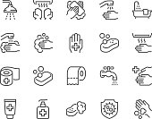 Line Hygiene Icons