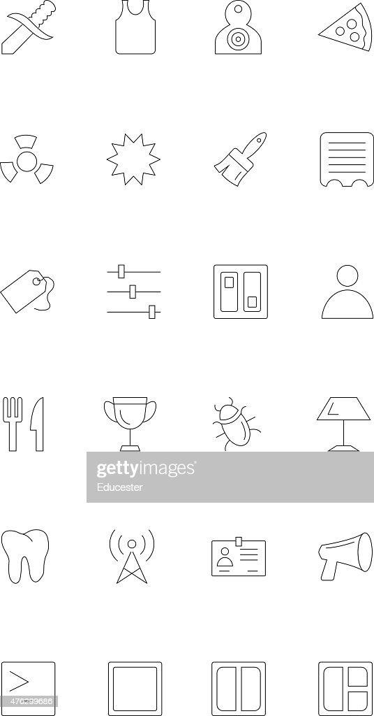 Line icons 18