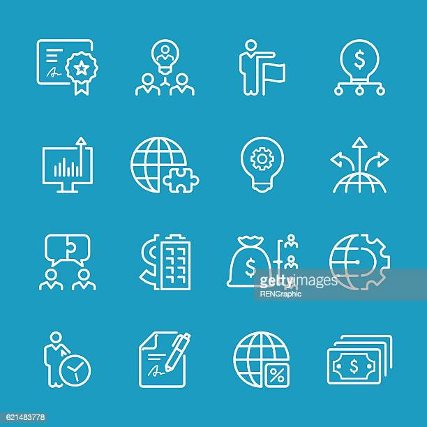 Line icons - Business Series