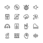 --- Line Icons. Editable Stroke. Pixel Perfect. For Mobile and Web. Contains such icons as ---.
