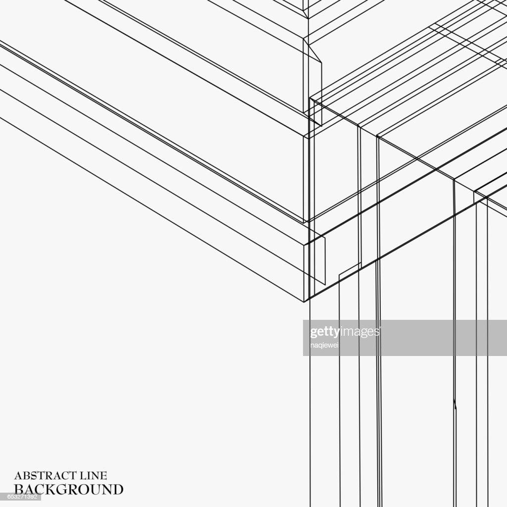 line pattern background : Vector Art