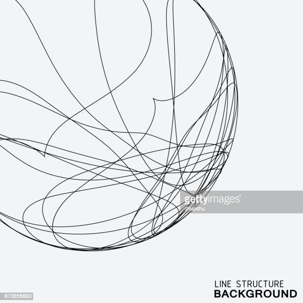 line pattern background - point of view stock illustrations