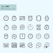 NEW Line Positive Icons