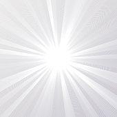 Line radial Straight line