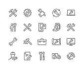 Line Repair Icons