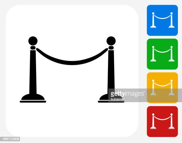 Line Rope Icon Flat Graphic Design