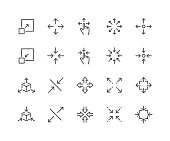 Line Scaling Icons