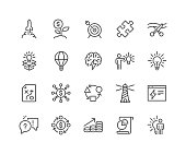 Line Startup Icons
