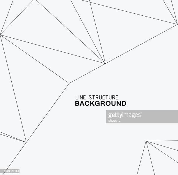 ilustrações, clipart, desenhos animados e ícones de estrutura de linha de fundo - fileira