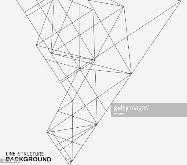 line structure background - architecture stock illustrations