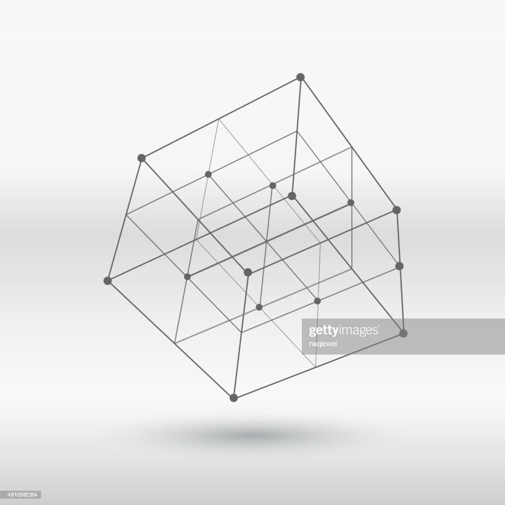 line structure cube