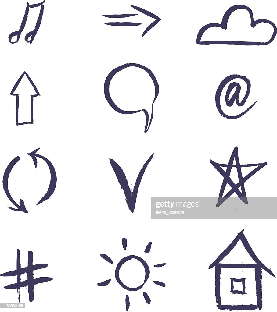 Line wireframe stone shape design logos and icons elements for : Vector Art
