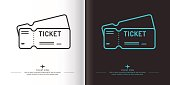 Linear image of tickets