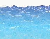 Linear liquid structure