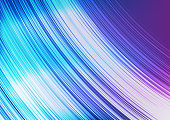 Linear Waves Light Blue and purple Abstract background,speed and curve concept,design for texture and template,with space for text input,Vector,Illustration.
