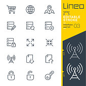 Lineo Editable Stroke - Interface and UI line icons
