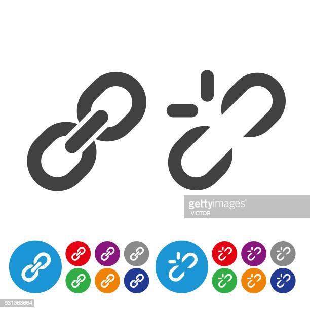 リンク アイコンのグラフィック アイコン シリーズ - 付着点のイラスト素材/クリップアート素材/マンガ素材/アイコン素材