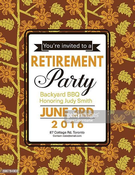 retirement party stock illustrations and cartoons getty images