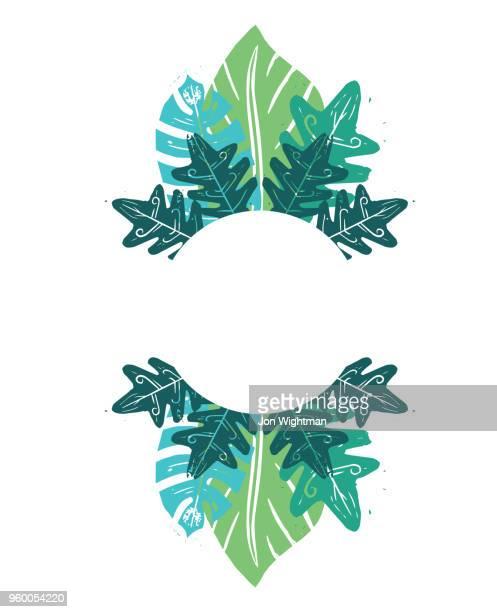 リノリウム葉の背景 - リノリウム点のイラスト素材/クリップアート素材/マンガ素材/アイコン素材
