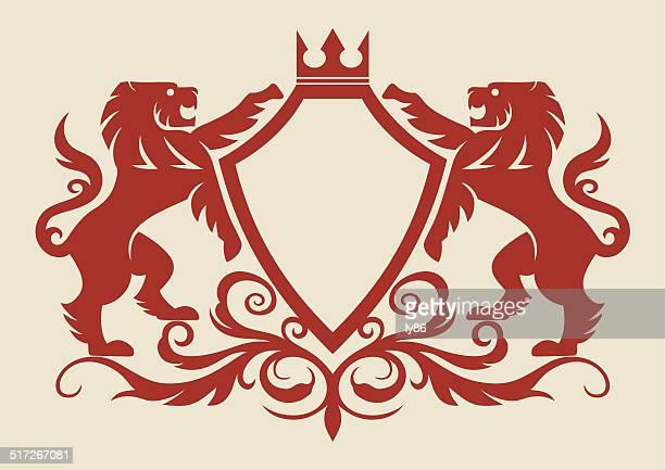 Lion crest