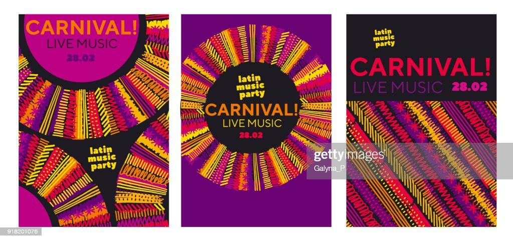 lion face in folk style. classic reggae color music concept poster. Jamaica poster vector illustration