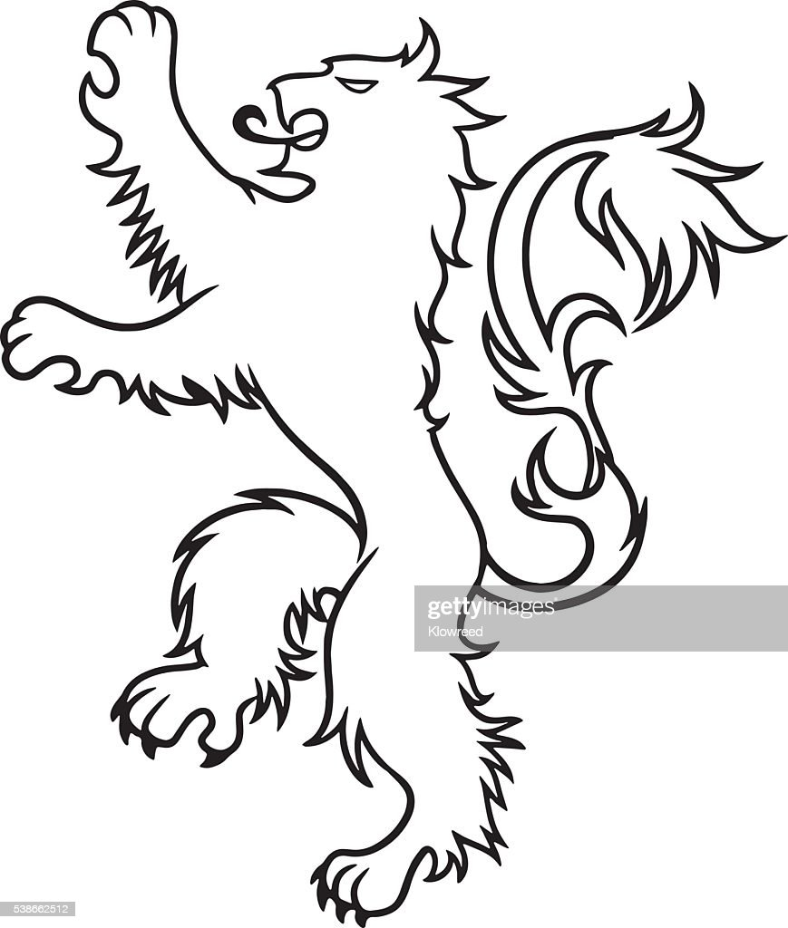 Lion tattoo vector vector. Men's tattoo. Women's tattoo.
