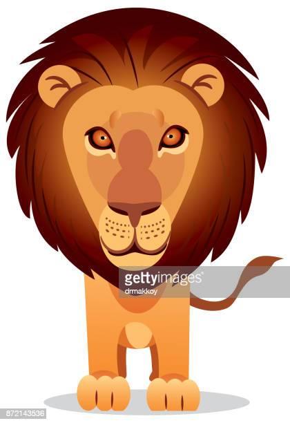 lion - zimbabwe stock illustrations, clip art, cartoons, & icons
