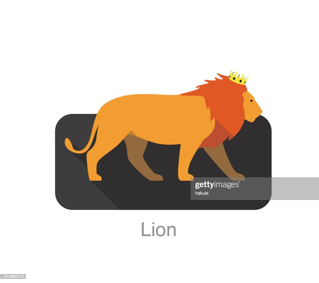 Lion Wearing A Crown And Walking Vector Illustration High Res Vector Graphic Getty Images A lion with a crown in a leafy frame vector. https www gettyimages com detail illustration lion wearing a crown and walking vector royalty free illustration 911660718