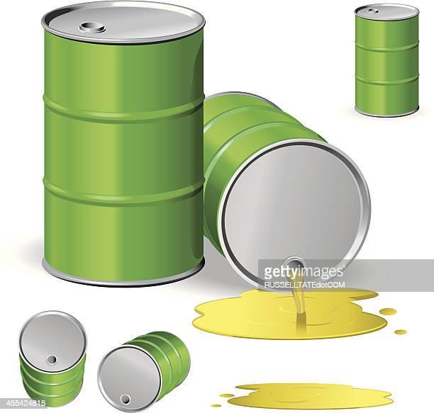 liquid gold - oil drum stock illustrations, clip art, cartoons, & icons