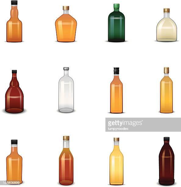 アルコールボトルのアイコン