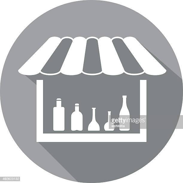 Licor comprar ícone
