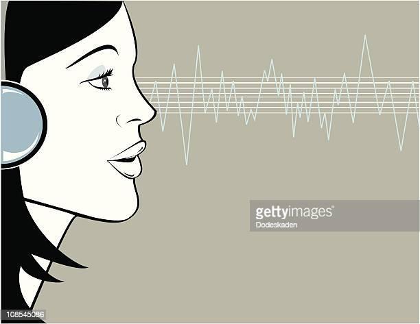 listen to me - audio equipment stock illustrations, clip art, cartoons, & icons