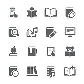 Literature and eBook icons    prime series