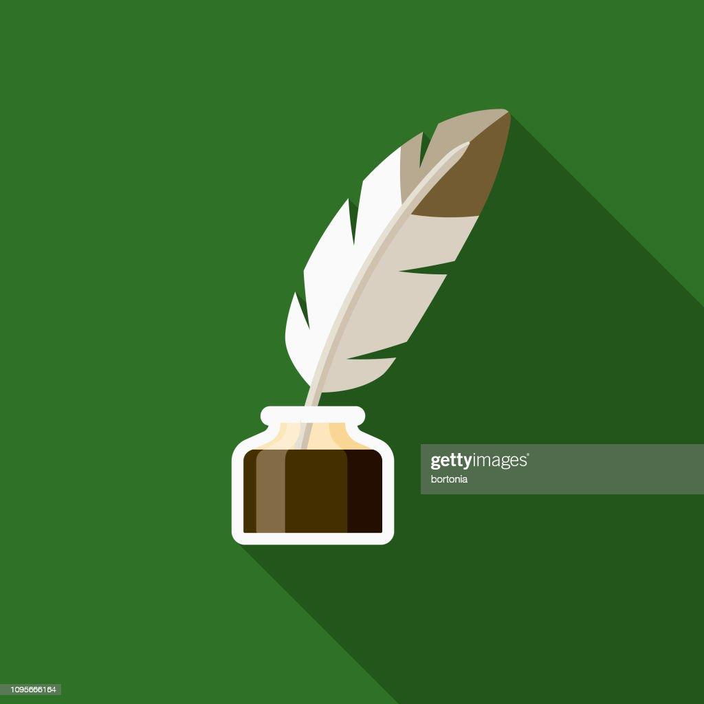 Literature Ireland Icon : stock illustration