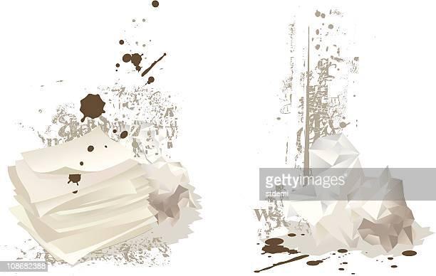 Mess Letters Symbols Vector Kunst En Graphics Getty Images