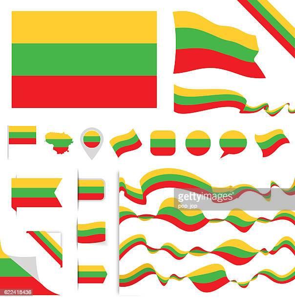 Lithuania Flag Set
